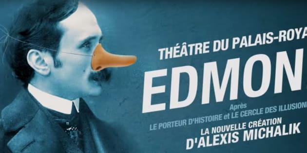 """Edmond"" d'Alexis Michalik raconte le ""making-off"" de Cyrano de Bergerac"