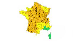 66 départements en vigilance orange à la