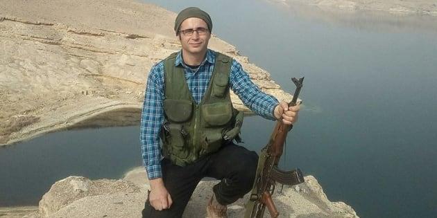 """Les Kurdes rendent hommage à """"KendalBreizh"""", Breton mort en Syrie en combattant avec eux"""