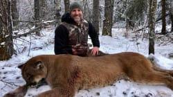 Un animateur télé canadien tue un puma et provoque une