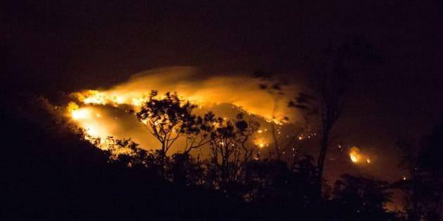 Incêndio na Chapada dos Veadeiros atinge 35 mil hectares.