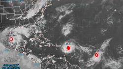 Irma aún no llega, pero detrás de ella va la tormenta