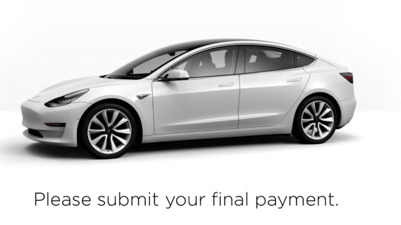 Tesla reservation holders may get Model 3 deliveries next week