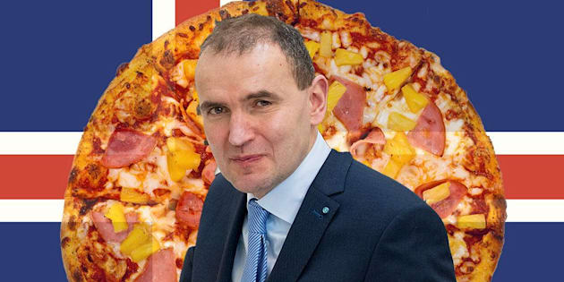 Iceland presidentGuðni Th. Jóhannesson says he hates pineapple as a pizza topping and wishes he could ban it.