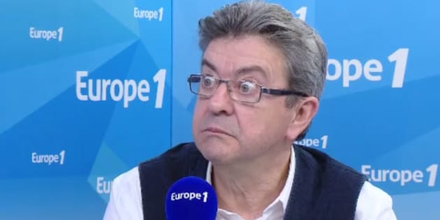 Jean-Luc Mélenchon ce mercredi 15 mars sur Europe1