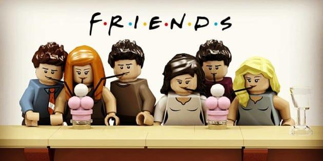 """La série """"Friends"""" a été revisitée en Lego par un informaticien de Rouen"""