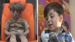 Así se ve Omran, el niño de Alepo que mostró la tragedia de la guerra