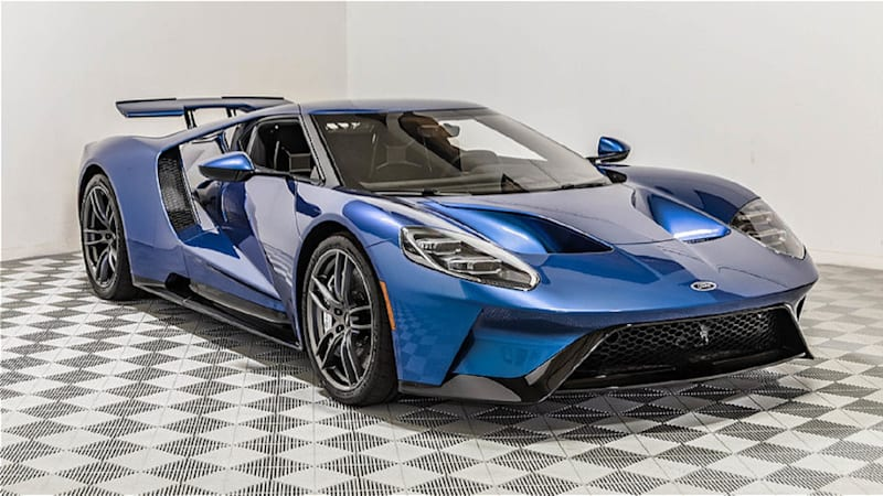 Heres Your Chance To Buy John Cenas Former  Ford Gt Autoblog