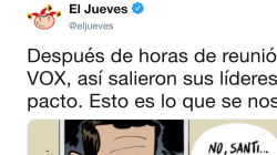 El espeluznante vaticinio de 'El Jueves' que ya es viral sobre lo que le espera a España tras el pacto entre PP y
