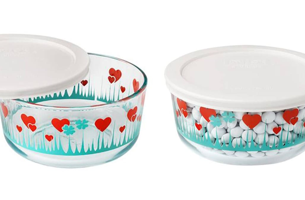 Pyrex Brings Back This Popular Vintage Pattern And We're 'Lucky In Gorgeous Rare Pyrex Patterns