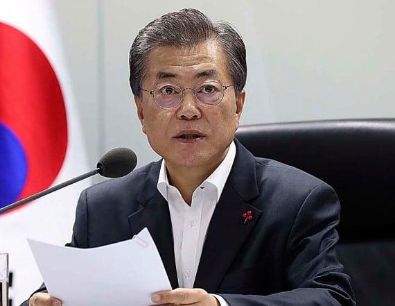 South Korea's Moon proposes three-way summit
