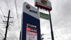 La gasolina cada vez más barata en la frontera