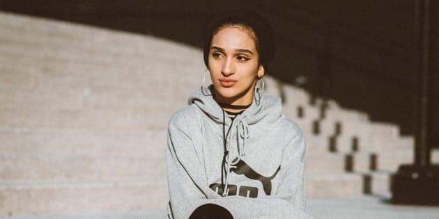 Sondos Lamrhari, 17 ans, pourrait présenter une demande d'accommodement si on lui refuse un emploi au Québec.