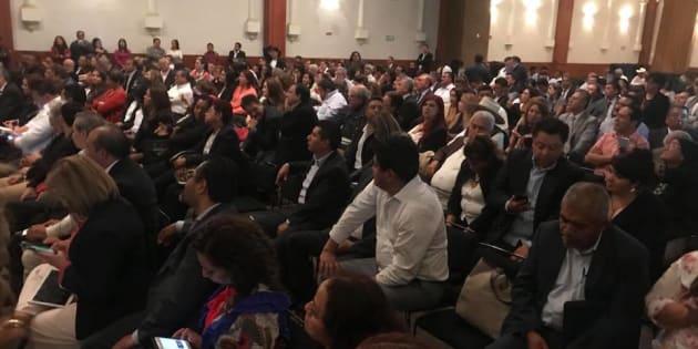 Futuros legisladores de Morena en su reunión con AMLO el pasado 11 de julio.