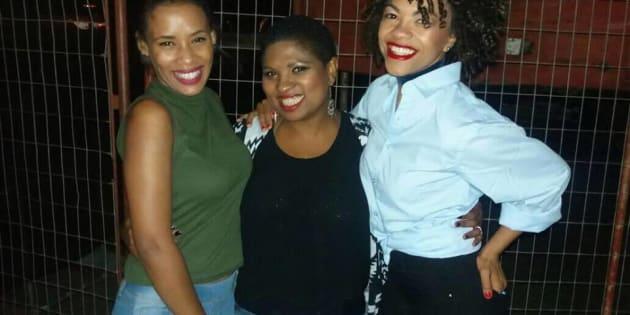 Felicity Kiran, Anray Amasure and Lauren-Lee Bock of Woman2Woman.