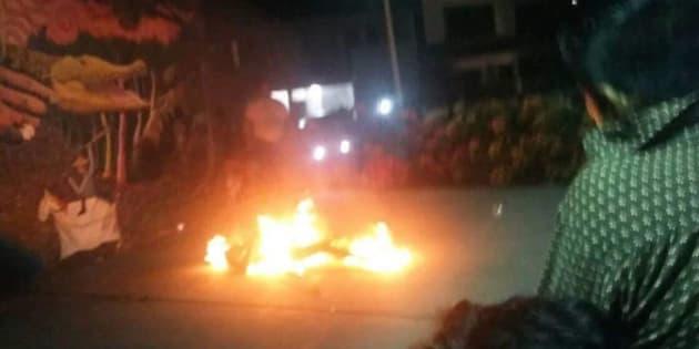 En WhatsApp circula un video y un mensaje en el que se asegura que pobladores de la comunidad de Tamulté quemaron a una persona por apoyar a Ricardo Anaya.