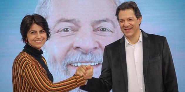 Vice-presidente pelo PT, Haddad também afirmou que vai seguir o cronograma de viagens da candidatura petista ao lado de Manuela D'Ávila.