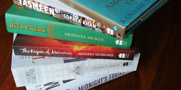 The six books shortlisted for the Shakti Bhatt First Book Prize 2016.