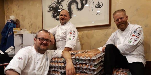 JO 2018 : une délégation commande... trop d'œufs !