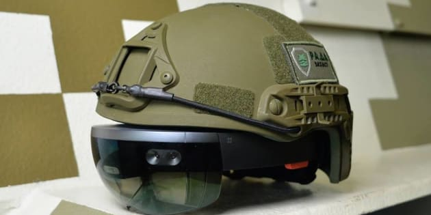 Et si la réalité augmentée trouvait son utilité dans le monde militaire?