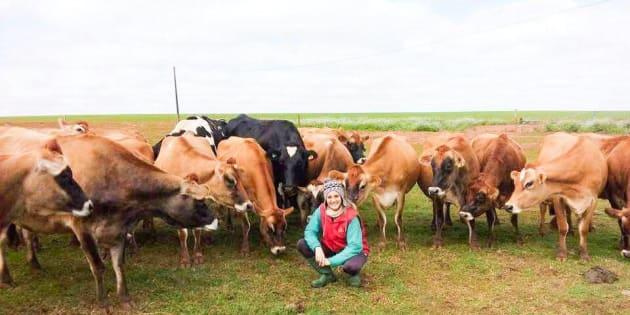 Marlene Kaiut é produtora de leite no interior do Paraná.