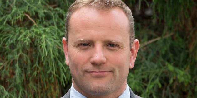 Christopher Seguin wasvice-president of advancementat Thompson Rivers University in Kamloops.