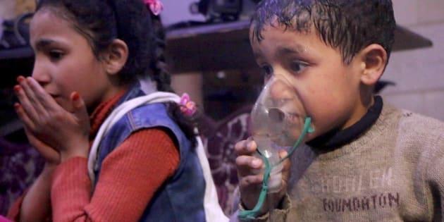 Après l'attaque chimique en Syrie, pourquoi la France aura du mal à détourner le regard