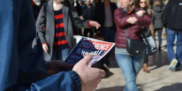 """Le """"Bastion social"""", ce groupe d'extrême droite radicale dont s'accommode le FN marseillais (image de propagande)."""