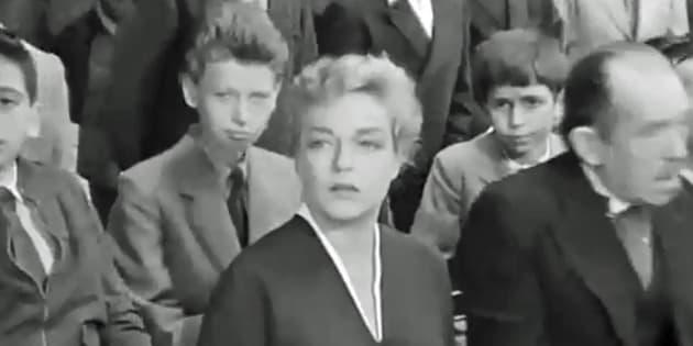 """Extrait du film de Clouzot """"Les Diaboliques"""" dans lequel joue Jean-Philippe Smet alias Johnny Hallyday."""