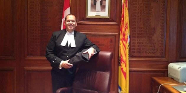 New Brunswick Speaker Chris Collins is shown in a photo posted to Facebook.