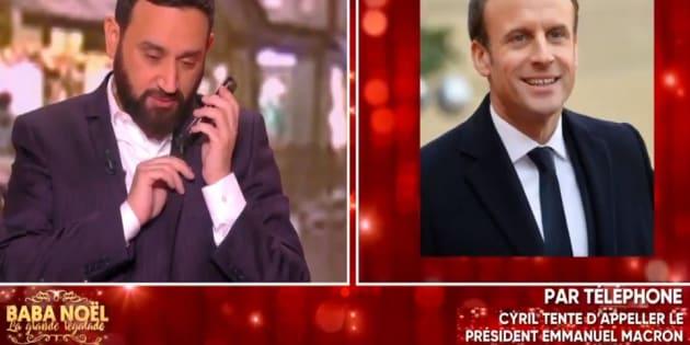 """L'émission """"Baba Noël"""" diffusée ce mercredi 20 décembre sur C8 a fait parler d'elle pour une séquence: l'inattendue conversation téléphonique entre """"Baba"""" et Emmanuel Macron."""