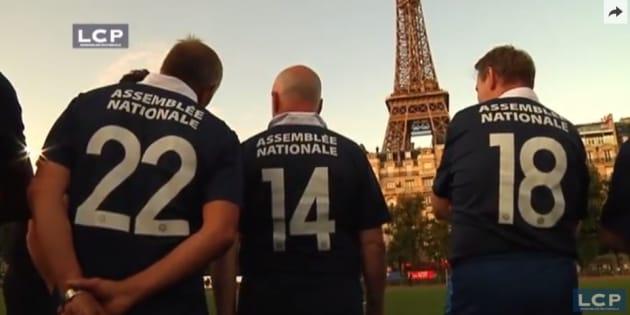 EXCLUSIF - La première sélection de la nouvelle équipe de foot de l'Assemblée