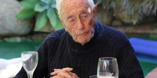 David Goodall, el científico más veterano de Australia.