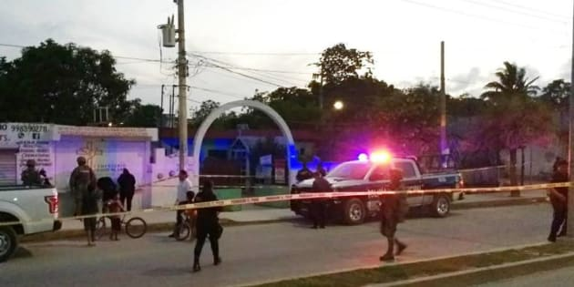 El ataque con arma de fuego fue cerca de las 19:30 horas de este sábado.