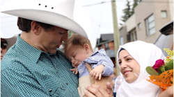 Baby Justin Trudeau Steals The Show From PM