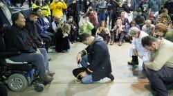 Ceremonia de perdón une a veteranos y a americanos