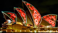 The Sydney Opera House Will Be Lit Up With Poppies For Remembrance