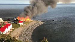 Un incendie a détruit le Théâtre de la Vieille Forge de