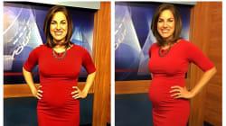 Cette journaliste est traitée de «dégoutante» pour s'être affichée enceinte à la