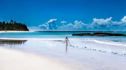 Ela largou o emprego por causa deste paraíso na Bahia: 'Hoje meu tempo é