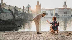 This Woman Spent 2 Years Planning A Picture-Perfect Proposal In