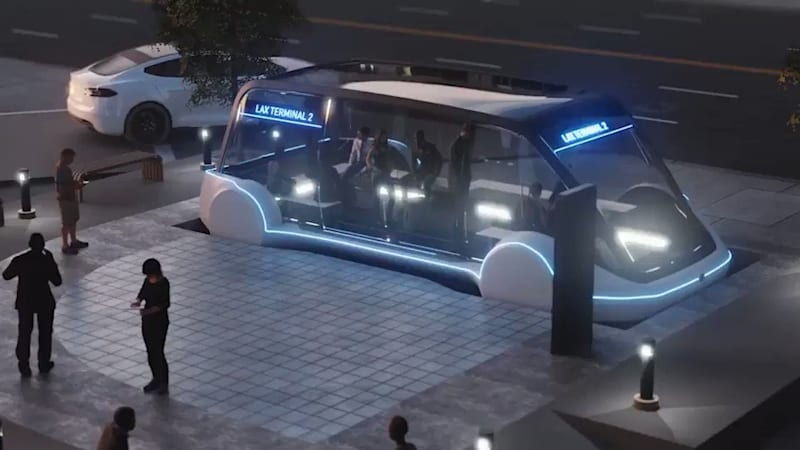 photo image Elon Musk's Boring Company will prioritize pedestrians over cars
