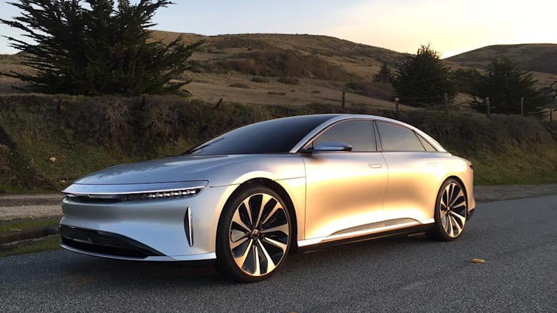 San Francisco Bay Area Based Lucid Motors Is Now Taking Pre Orders For Its 1 000 Horse Air Four Door Luxury Electric Vehicle