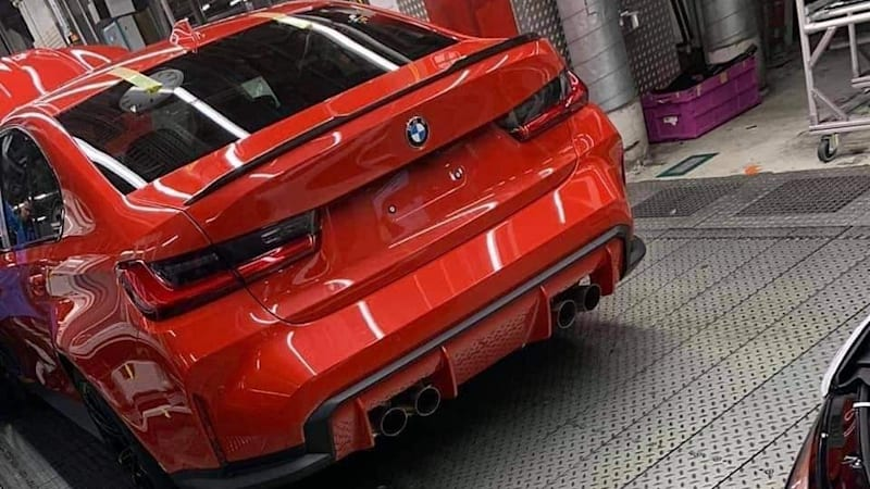Car Today | Next-gen BMW M3 photo supposedly leaked from factory floor