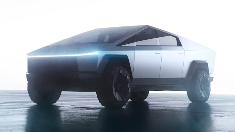 Tesla Cybertruck will have an answer to the Hummer EV's 'Crab Mode'