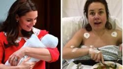 Des mères comparent leur photo post-accouchement à celles de Kate