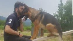 L'addestratore di Kaos, cane eroe di Amatrice ucciso: