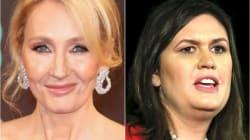 J.K. Rowling Roasts Sarah Huckabee Sanders With George Orwell '1984'