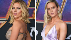 Scarlett Johansson And Brie Larson Wore All The Infinity Stones To 'Endgame'