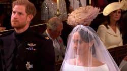 Kate ha fatto di tutto per non farsi notare, ma questo sguardo parla da